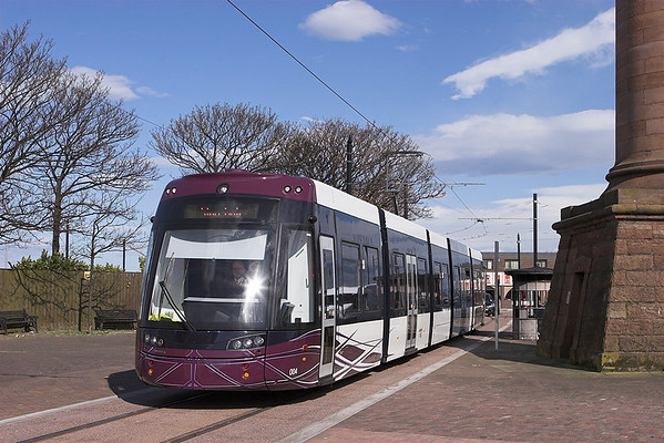 4th April 2012: First Day of New Blackpool Trams