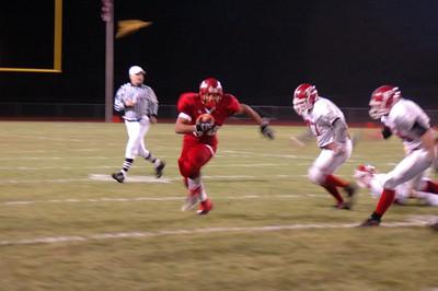 Boys Varsity Football - 10/26/2007 Playoffs Chippewa Hills JG