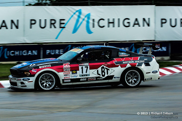 2013 Detroit GP Pirelli World Challenge