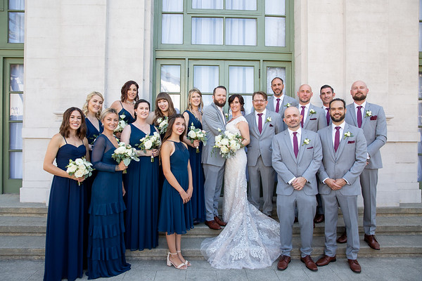 2019_8_25 Kara & Matt at Wilshire Ebell