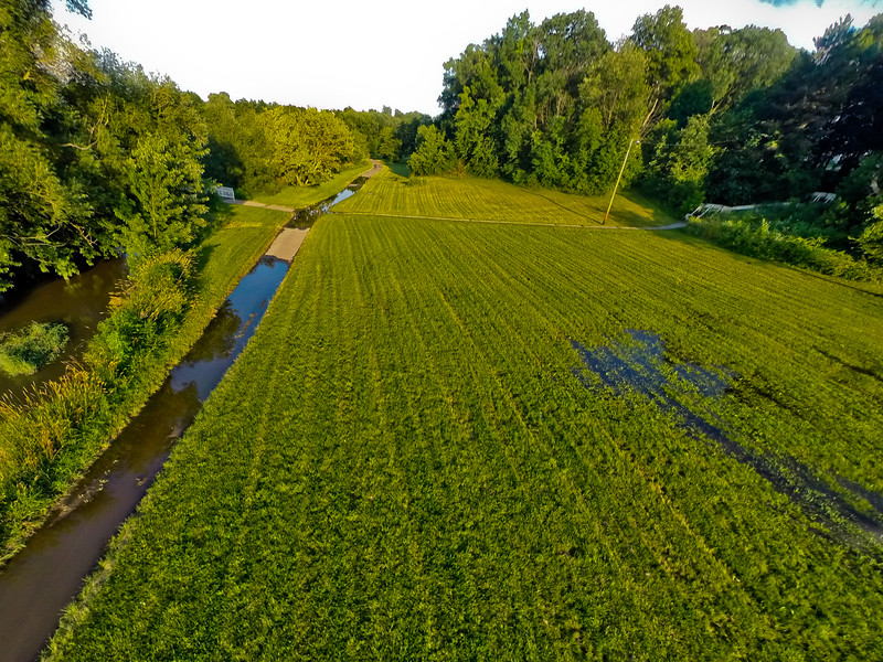 Summer Sunset at the Park 17 : Aerial Photography from Project Aerospace