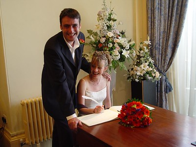 George and Tracey's Wedding - 2003
