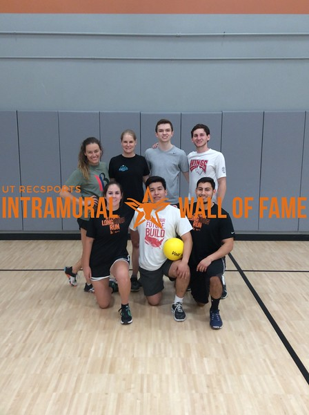 Spring 2017 Dodgeball Coed Runner Up_Build Your Future Build