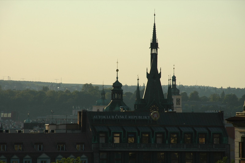 Dusk at Hlavni Nadrazi- Prague, Czech Republic