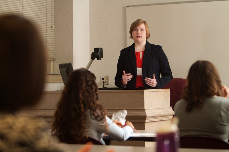 Gardner-Webb University's Life Of The Scholar (LOTS) participants present their thesis projects; Spring 2016. Juliette Ratchford, Religiosity and Relationships: A Search for the Sacred with a Significant Other