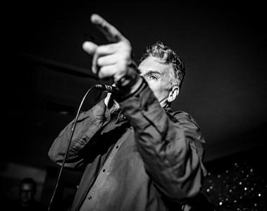 Jake Calypso, Welsh Rockabilly 2018 B&W