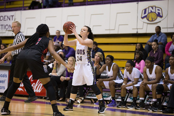 UNA Basketball vs Valdosta St. 2014