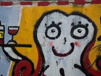 Exploring Graffiti in Florentine, Tel Aviv