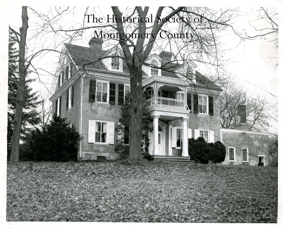 . This undated photo from the Historical Society of Montgomery County shows Selma Mansion, the old Fornance mansion, in Norristown.
