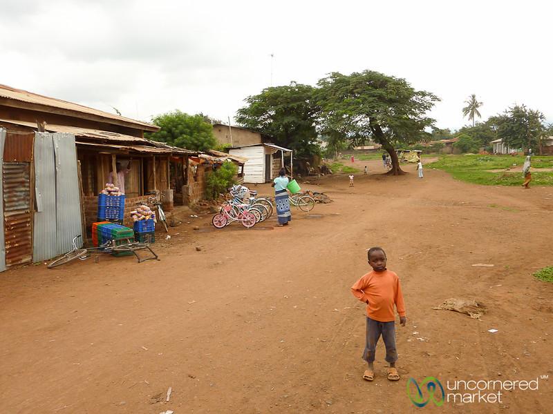 Village Scene Near Moshi - Tanzania