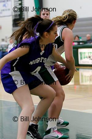 Girls JV Basketball Norton v Westwood 2_8_11