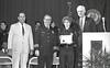 IPD Graduation, April 28, 1988, Img. 10, with Mayor Hudnut, Richard I. Blankenbaker, Paul A. Annee