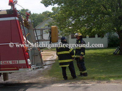 7/2/08 - Leslie house fire, 4707 S. Meridian Rd