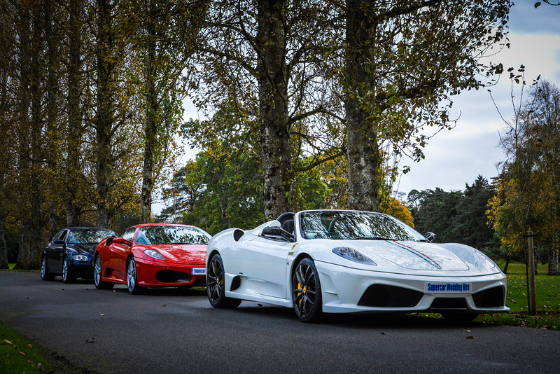 Supercar Wedding Hire