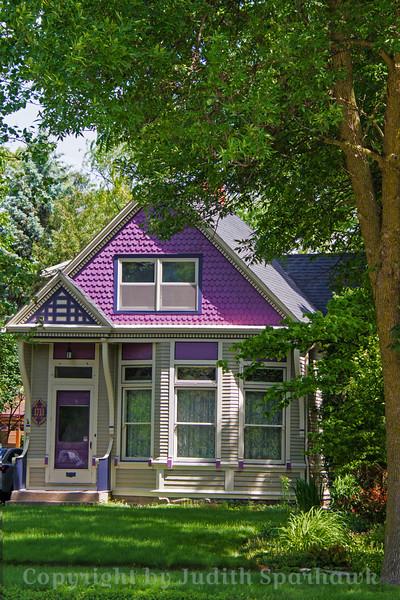 The Purple Cottage