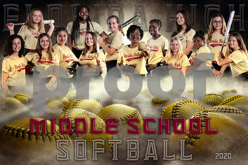 Florida High Middle School Softball 2020