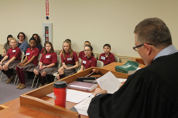 PHOTOS: Holy Trinity students take defamation case to court in Morrisville