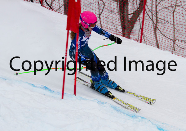U16 Women GS 2/23 Run 2