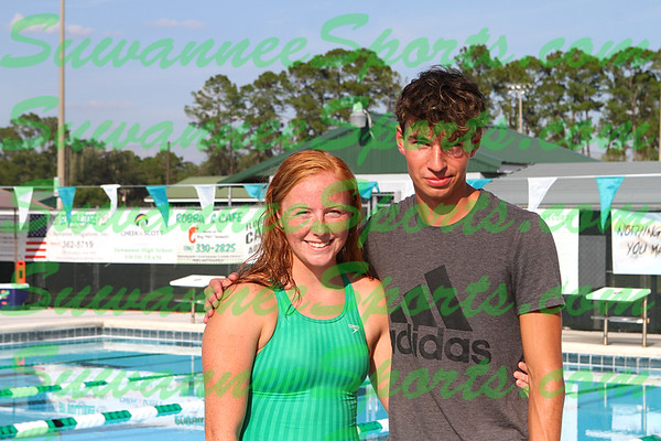Suwannee High School Swimming 2019