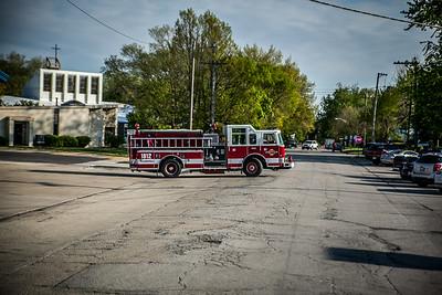Ride to School in a Fire Truck