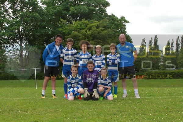 Under 11's Team Photo's