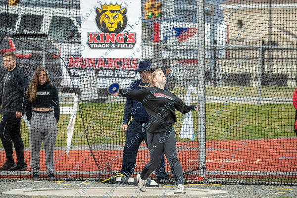 King's College TRACK & FIELD - 04/18/2019