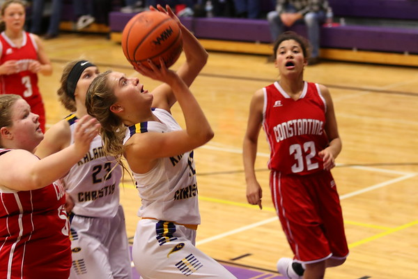 Basketball Girls Varsity vs. Constantine - KCHS - 12/15/17