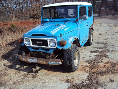 (SOLD) 1980 Blue GA