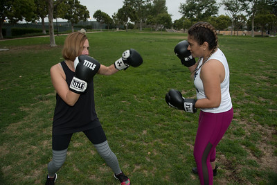 Nelly & Friend Boxing