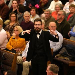 IWU Chorale at Brookhaven Church 11-18-18