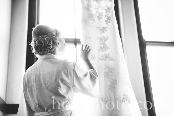 Beth & Brian B/W Wedding Photos