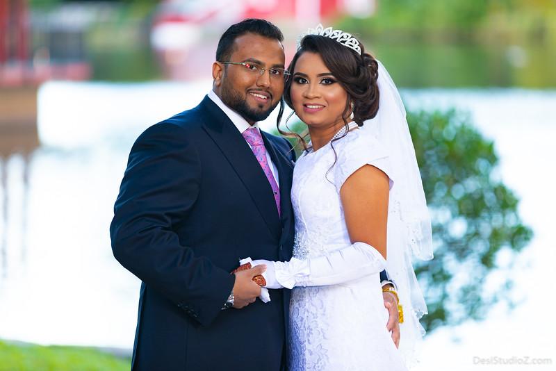 Amarus and Bryan Wedding