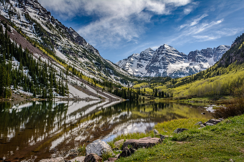 Maroon Lake near Aspen