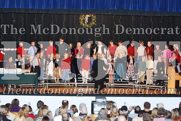 4th Grade Xmas Program 12-17-07