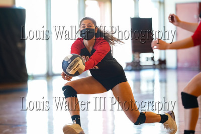 Volleyball Warriors at Rogers on 4/19/21