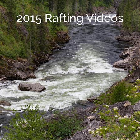 2015 Rafting Videos