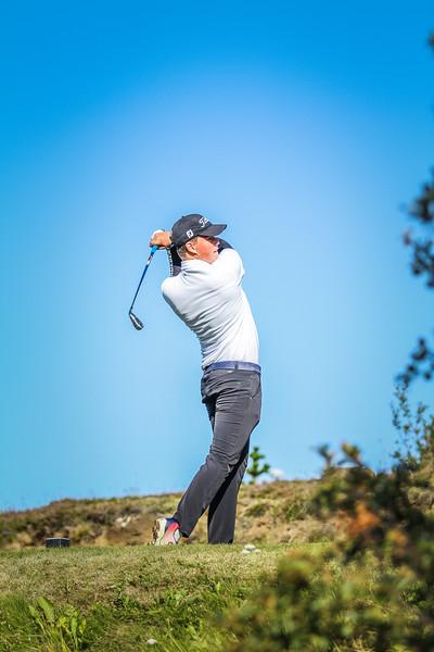 GR, Arnór Tjörvi Þórsson Íslandsmót í golfi 2019 - Grafarholt 2. keppnisdagur Mynd: seth@golf.is