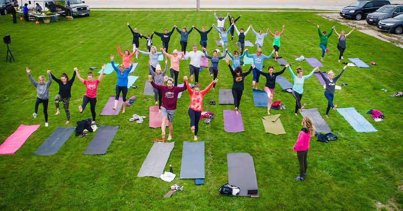 Prana Outdoor Yoga - Broadview Heights Farmers Market