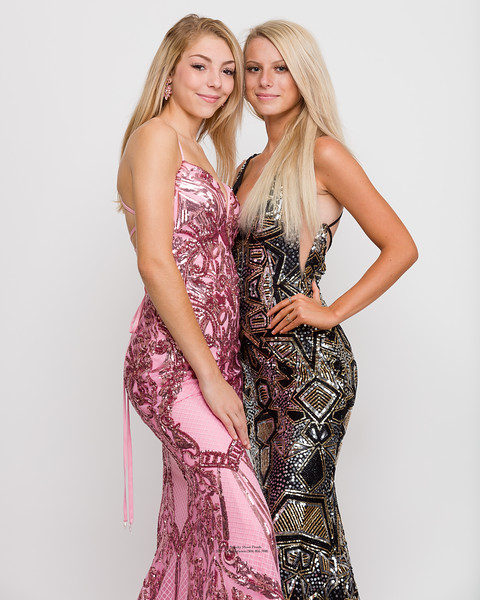 Morilee P43032 and B45098