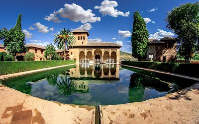 ALHAMBRA PALACE & CITADEL in GRANADA, ANDALUCIA,  SPAIN (2017)