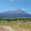 Spanish West Peak from La Veta, Colorado. Height 4,155 metres. 13,631 feet.