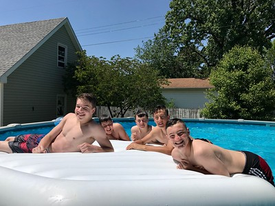 5-25-18 Swimming at THAD'S
