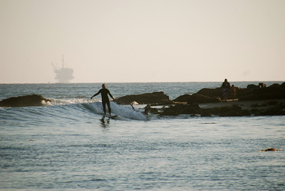 Refugio surfing