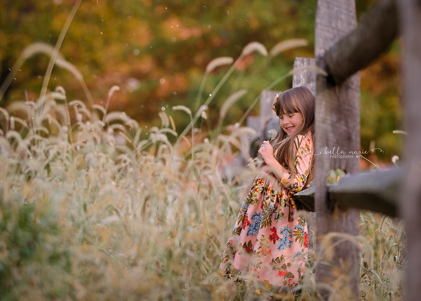 Fall Outdoor Child Portraits