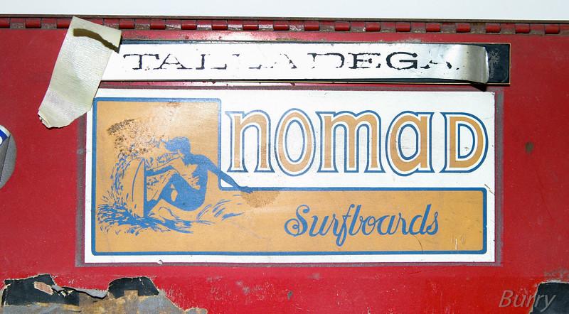 Old Nomad Sticker