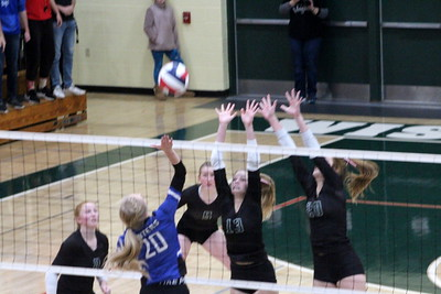 Mineral Point @ Wisconsin Heights Volleyball 10-24-19