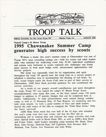 1995 Troop Talk