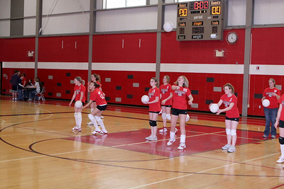 Girls Volleyball 8B - 3/12/2008 Newaygo