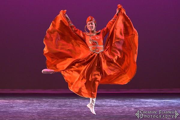 Mongolian Dance by Melissa Ye