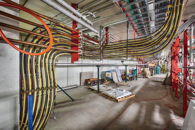 NuMI Beam Line Power Cables Near 615